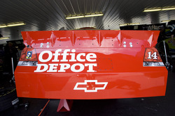 The TV panel for the No. 14 Office Depot Chevrolet