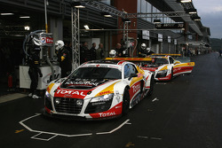 The WRT Belgian Audi Club cars