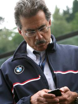 Mario Theissen, baas van Motorsport BMW