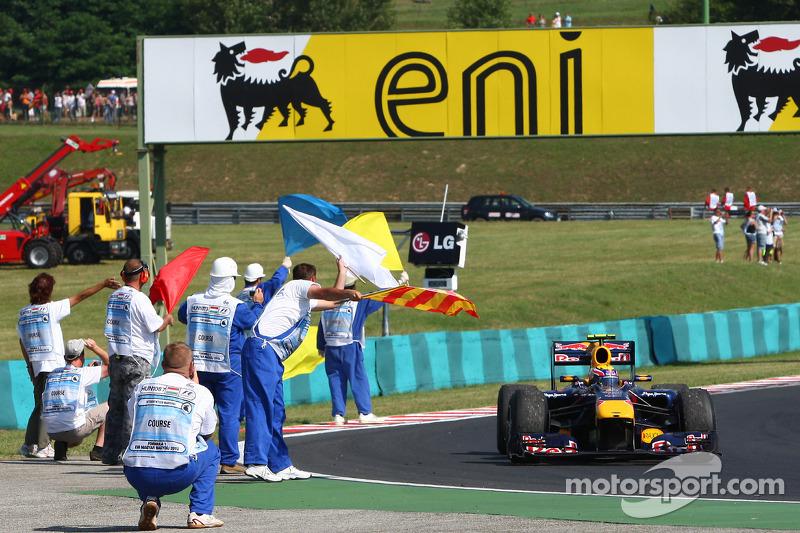 Переможець Марк Веббер, Red Bull - Renault