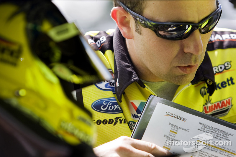 Matt Puccia, crew chief for Paul Menard