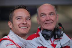 Timo Scheider, Audi Sport Team Abt et Dr. Wolfgang Ullrich, Audi Chef du sport