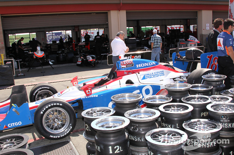 Auto van Milka Duno, Dale Coyne Racing