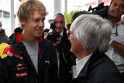 Sebastian Vettel, Red Bull Racing, Bernie Ecclestone