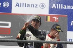 Podium: race winner Robert Wickens