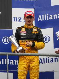 Podium: third place Robert Kubica