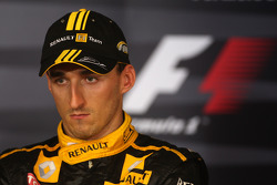 Post-race press conference: third place Robert Kubica, Renault F1 Team