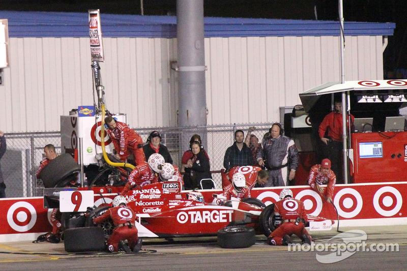 Arrêt de Scott Dixon, Target Chip Ganassi Racing