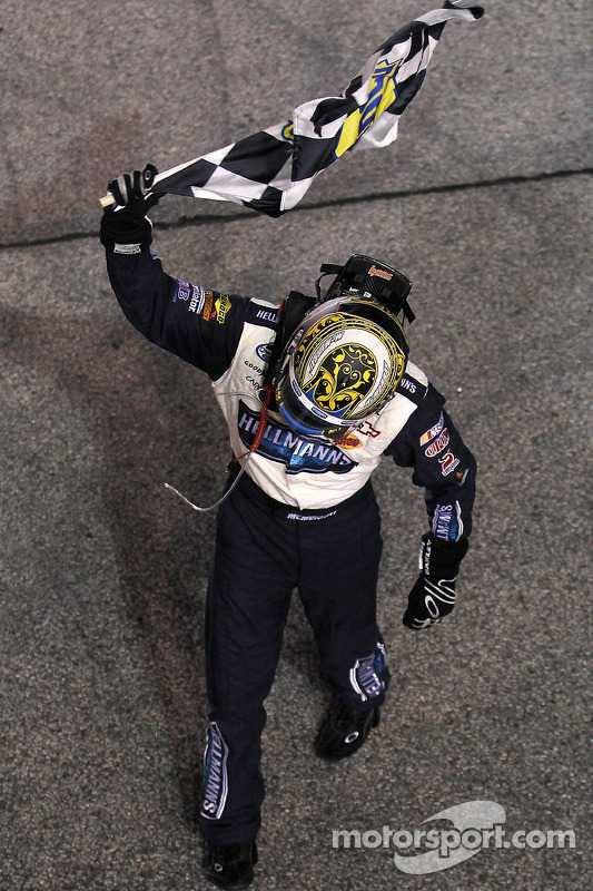 Race winnaar Jamie McMurray