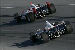 Helio Castroneves, Team Penske, Ryan Briscoe, Team Penske