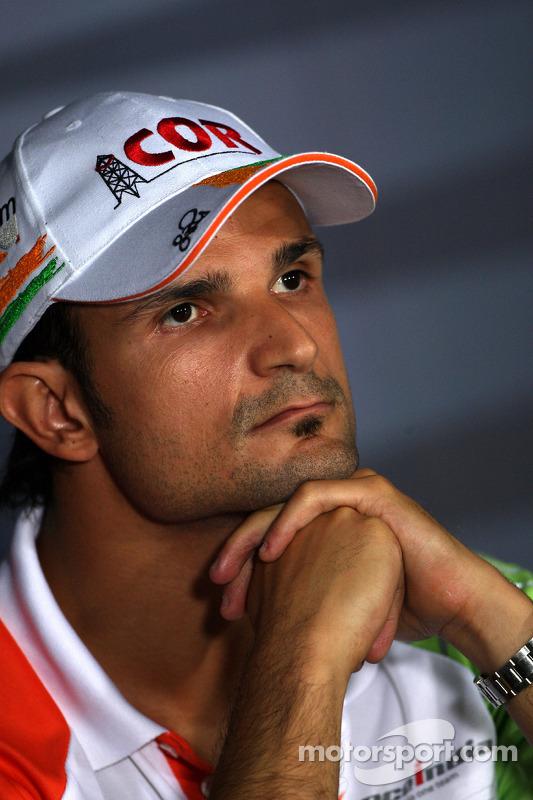 Persconferentie donderdag: Vitantonio Liuzzi, Force India F1 Team