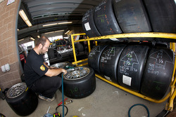 Tire and wheel preparation