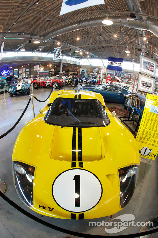 Miller Motorsports Park Museum