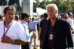 Pasquale Lattuneddu, FOM, Formula One Management,  Marco Tronchetti Prouera, CEO Pirelli