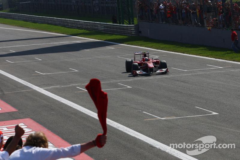 10. GP de Italia 2010: Fernando Alonso (Ferrari) en 1h16min24s572 (240.850 km/h)