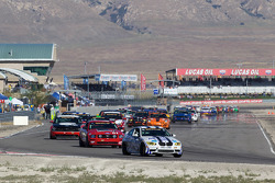 Formatieronden: #48 Fall-Line Motorsports BMW M3 Coupe: Charles Espenlaub, Charles Putman