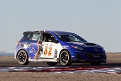#32 i-MOTO Mazda Speed 3: Taylor Hacquard, Pierre Kleinubing