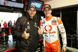 Jamie Whincup and Steve Owen take pole for the L&H 500 at Phillip Island, #1 TeamVodafone