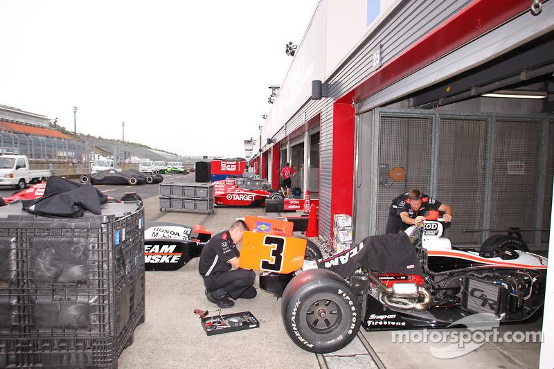 Team Penske garage