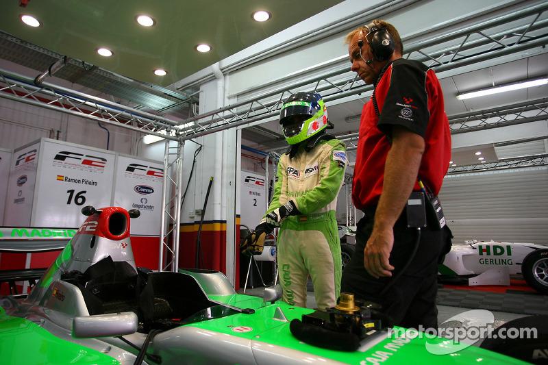 Ramon Pineiro maakt F2 debuut