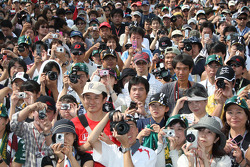 Fans of Takuma Sato, KV Racing Technology