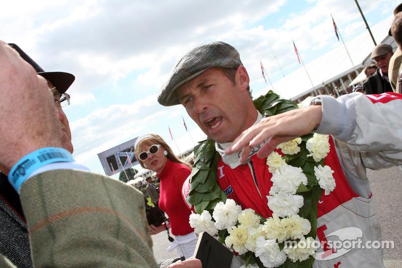 Saloons winnaar Tom Kristensen