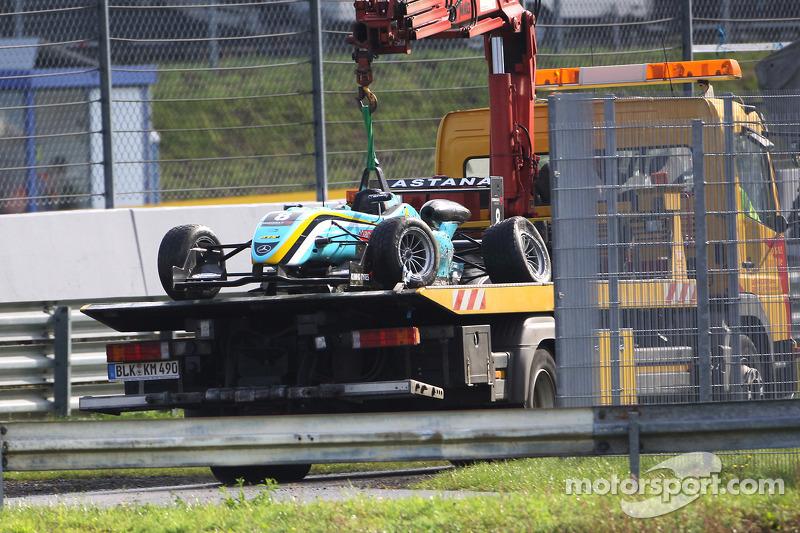 Auto van Daniel Juncadella, Prema Powerteam Dallara F308 Mercedes