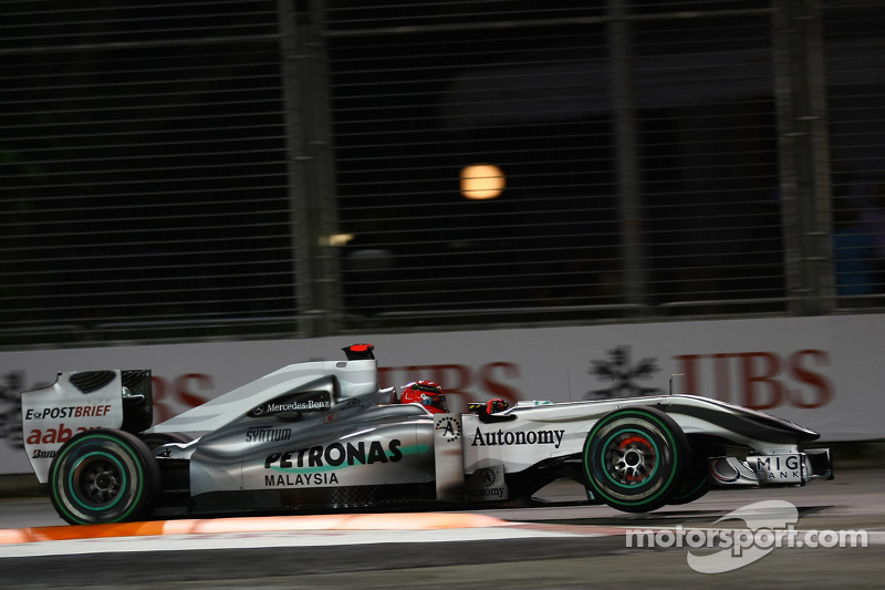 2010: Mercedes MGP W01
