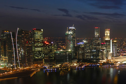 Singapore and Marina Bay Street Circuit