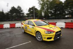 Nicholai Georgiou and Joseph Matar, Mitsubishi Lancer Evo X, Pirelli Star Driver