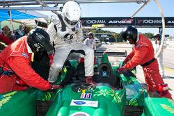 Pitstop #36 Genoa Racing Oreca FLM09: Frankie Montecalvo, Eric Lux, Alex Figge