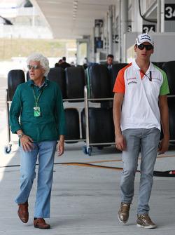 Adrian Sutil, Force India F1 Team, Jorge, vader van Adrian Sutil