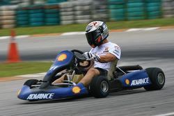 Pre-event go-kart: Marco Melandri