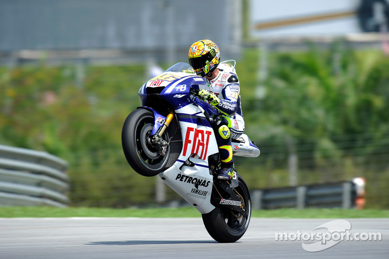 Valentino Rossi, Fiat Yamaha Team at Malaysian GP