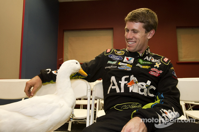 Carl Edwards, Roush Fenway Racing Ford met de Aflac eend