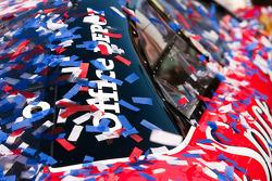 Victory lane: the winning car