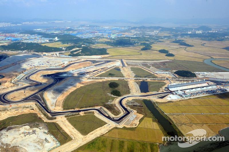 Circuitos: Malasia, Corea del Sur (foto) e India formaban parte del calendario. El GP de Alemania de aquel año se celebró en Nürburgring.