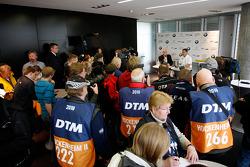 BMW returns to DTM press conference: ITR president Hans-Werner Aufrecht and BMW Motorsport director Dr. Mario Theissen