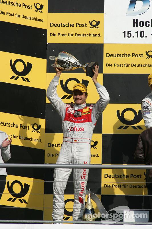 Podium: 2de Timo Scheider, Audi Sport Team Abt Audi A4 DTM