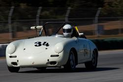 #34 3CP '61 Porsche 356 rdstr: George Balbach