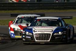 #5 Sainteloc-Phoenix Racing AUDI R8 LMS: Pierre Hirschi, Gregory Guilvert