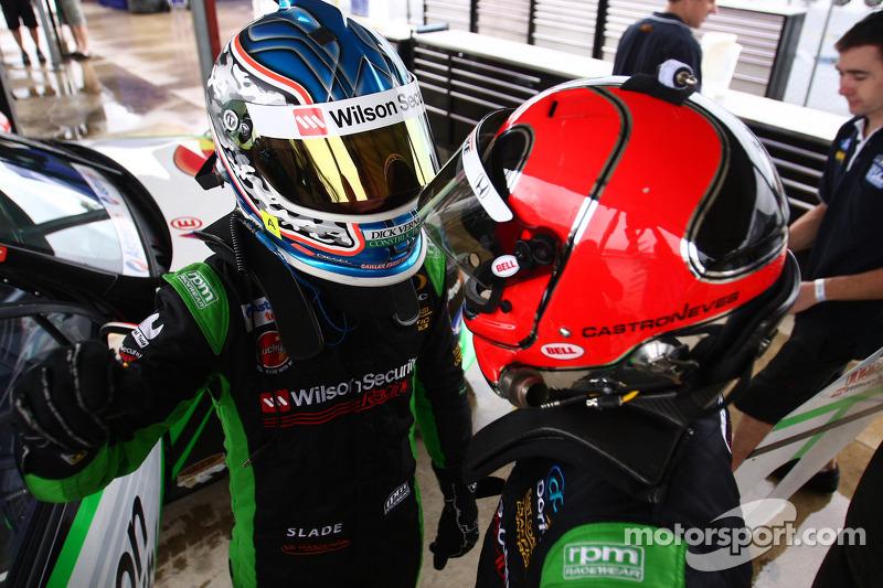 Tim Slade, Helio Castroneves, #47 Wilson Security Racing