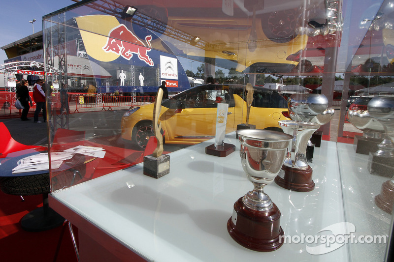 Citroën Total World Rally Team hospitality