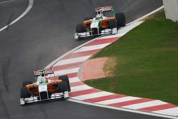 Vitantonio Liuzzi, Force India F1 Team voor Adrian Sutil, Force India F1 Team