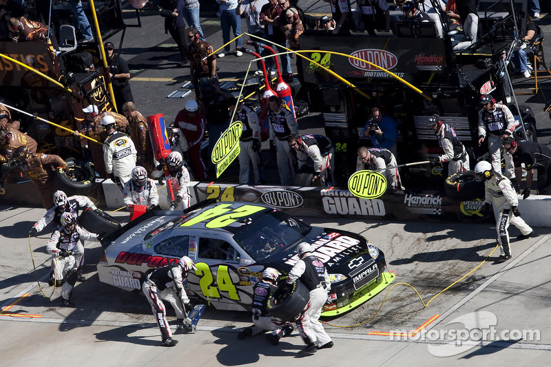 Pitstop Jeff Gordon, Hendrick Motorsports Chevrolet