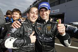 Qualifying race winners Frank Kechele and Ricardo Zonta