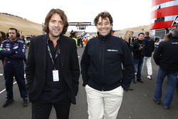 Stéphane Ratel, Chairman of SRO, and Michel Ligonnet, director circuit of Navarra
