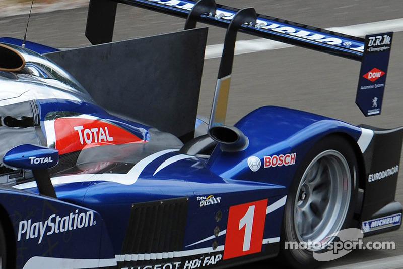 De nieuwe 2011 Peugeot 90X, geheime test