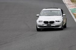 BMW leading car