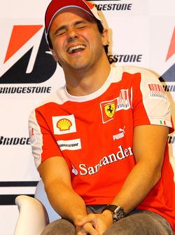 Felipe Massa, Scuderia Ferrari during the Bridgestone conference
